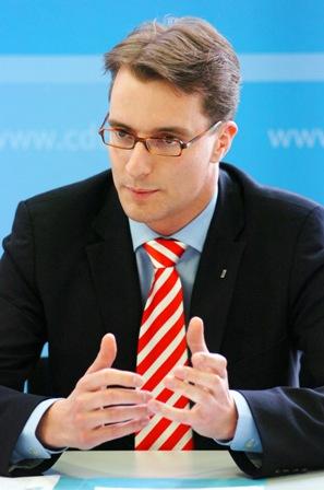 Hendrik Wüst MdL, Generalsekretär der CDU NRW