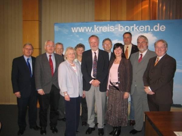 Der alte und neue Vorstand der CDU-Kreistagsfraktion Borken