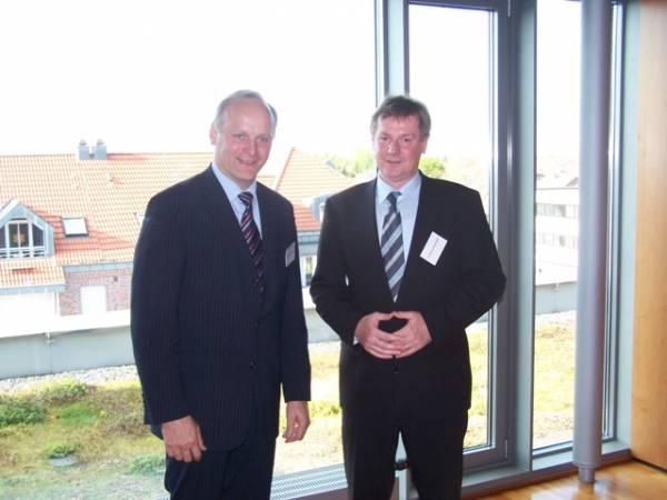 Johannes Röring MdB (Vreden) und Dr. Markus Pieper MdEP (Lotte)