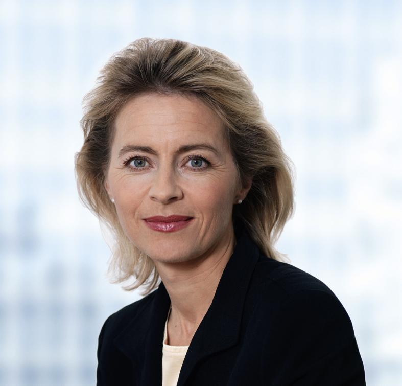 Bundesministerin Dr. Ursula von der Leyen