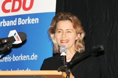 Bundesministerin Ursula von der Leyen in Bocholt
