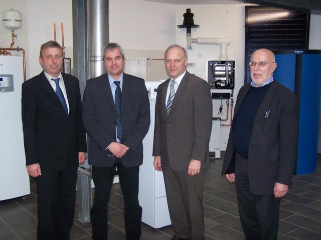 Christoph Bruns, Gregor Hochrath, Johannes Röring MdB und Hans Rehms