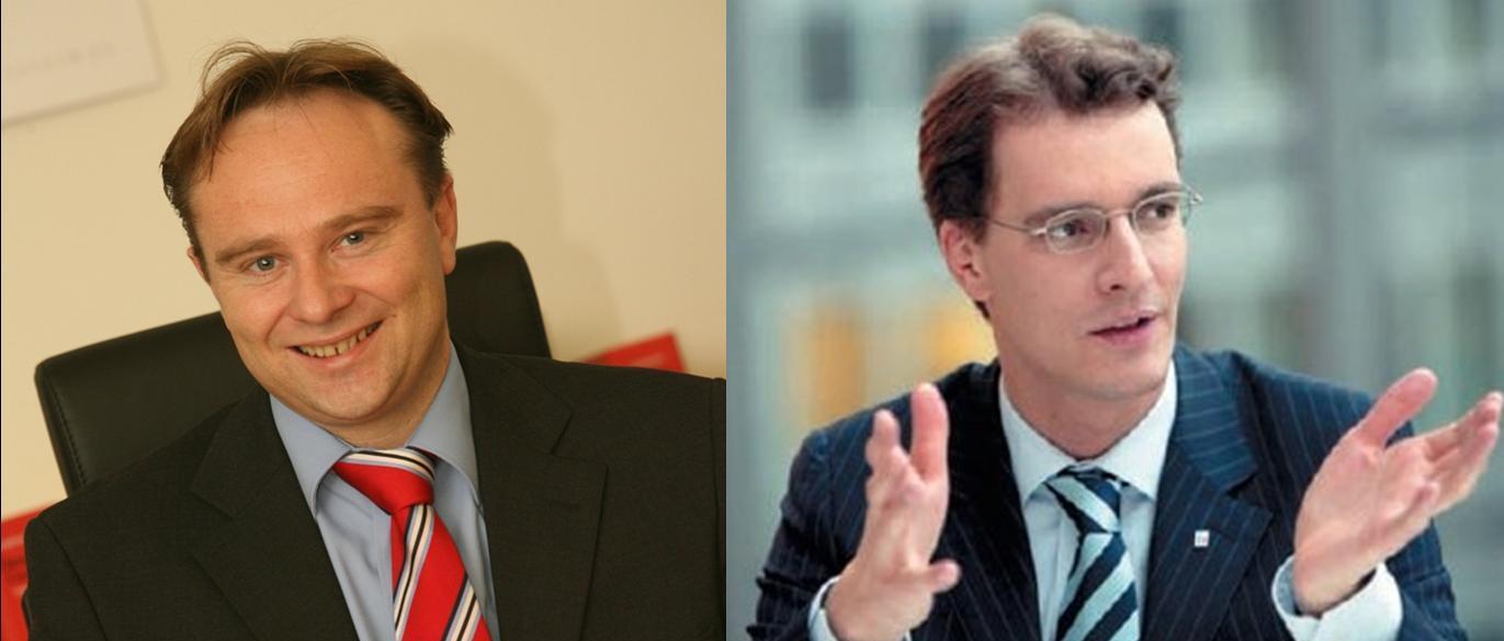 Wurden am Samstag vom Landesparteitag in den CDU-Landevorstand gewählt: Landratskandidat Dr. Kai Zwicker und Hendrik Wüst MdL