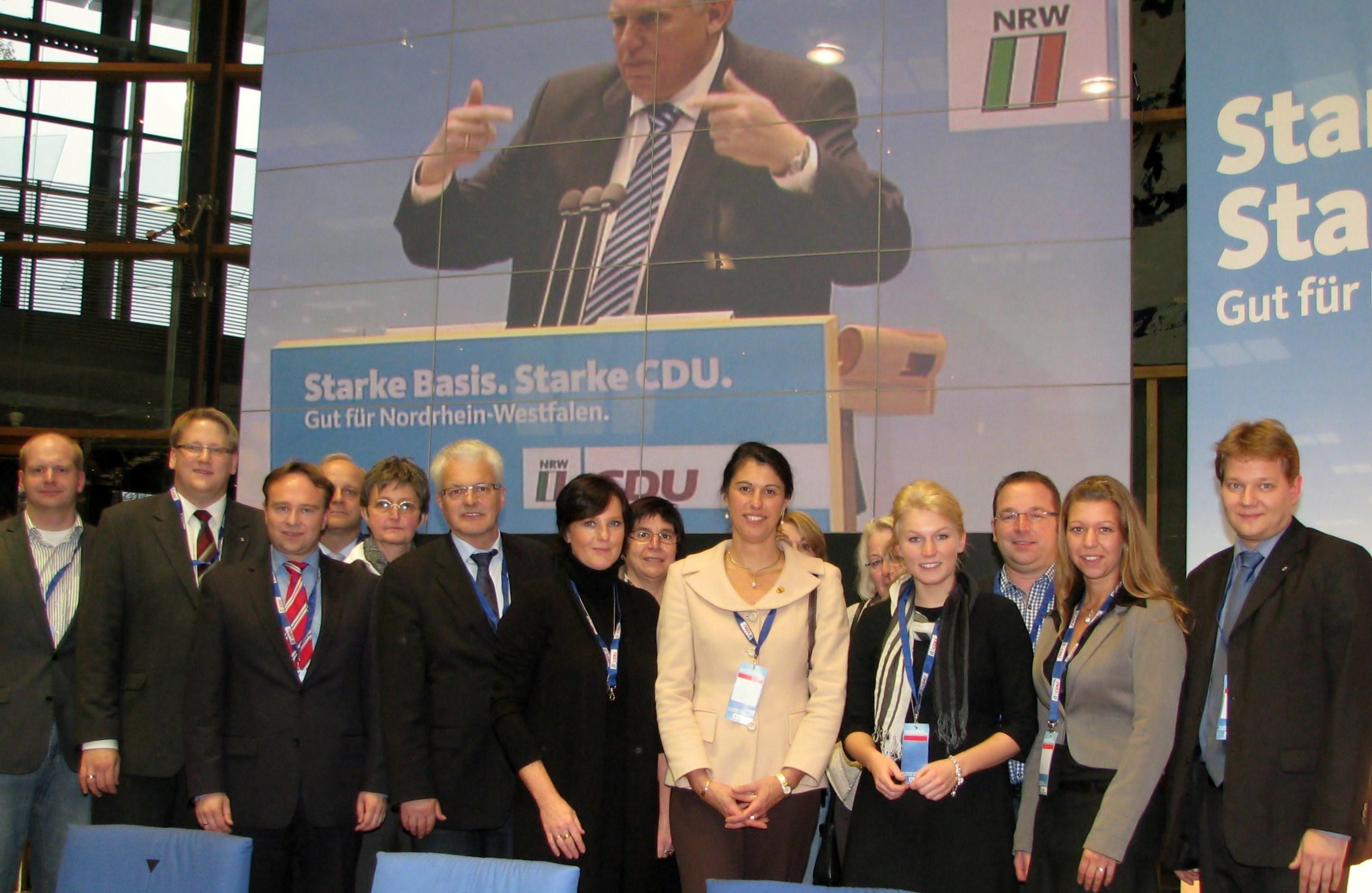 Die Delegierten aus dem Kreis Borken