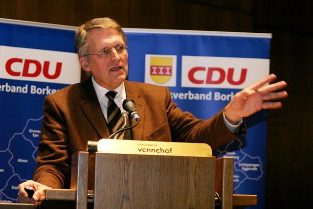 Gast aus Münster: Prof. Dr. Dr. Thomas Sternberg