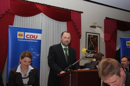 Das alte und neue Vorsitzende des CDU-Kreisagrarausschusses: Werner Winters aus Vreden