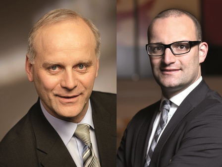 Sollen wieder in den Deutschen Bundestag: Johannes Röring und Jens Spahn