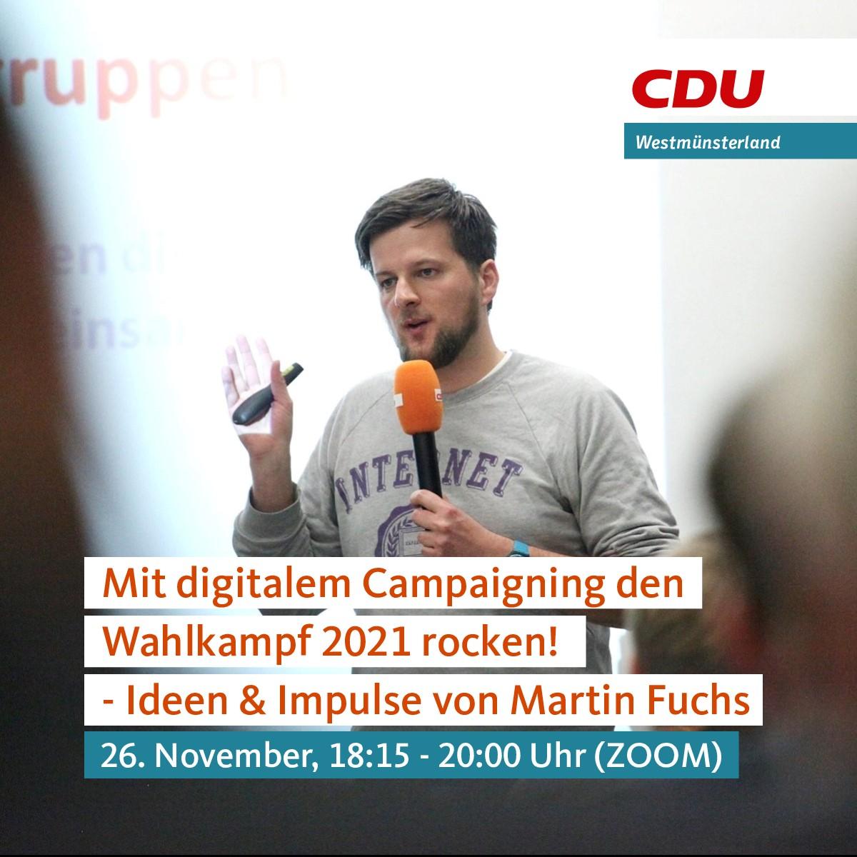 Mit digitalem Campaigning den Wahlkampf 2021 rocken!